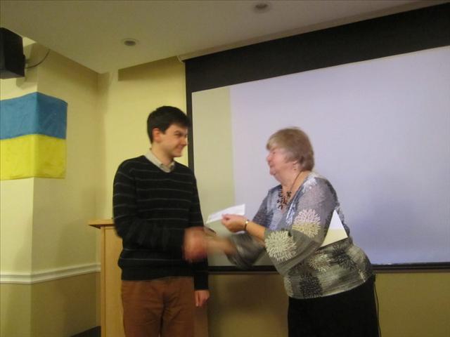 UCPBA Ottawa Scholarship Award 2013