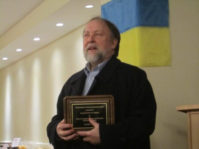 Filip Konowal VC Lifetime Achievement Award 2013